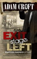 Cover for 'Exit Stage Left'