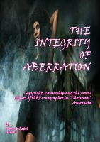 Cover for 'The Integrity of Aberration'