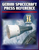 Cover for 'Gemini Spacecraft Press Reference Book - Comprehensive Information on All Aspects of America's Two-Man Orbiting Spacecraft, Agena Docking Target, Systems'