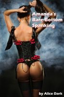 Cover for 'Amanda's Bare-Bottom Spanking'