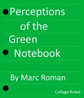 Cover for 'Perceptions of the Green Notebook'