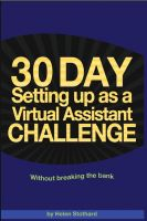 Cover for '30 Day Setting up as a Virtual Assistant Challenge'