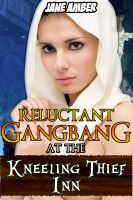 Cover for 'Reluctant Gangbang at the Kneeling Thief Inn'