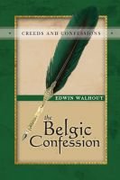 Cover for 'The Belgic Confession'