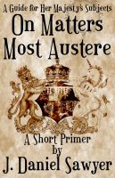 Cover for 'On Matters Most Austere'