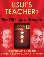 Cover for 'Usui's Teacher?: The Writings of Tanaka'