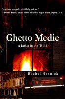 Cover for 'Ghetto Medic: A Father in the 'Hood'