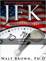 Cover for 'Master Chronology of JFK Assassination: Death'