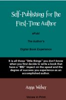 Cover for 'ePub! The Author's Digital Book Experience'