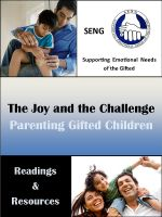 Cover for 'The Joy and the Challenge: Parenting Gifted Children'