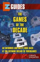 Cover for 'EZ Cheats Games of The Decade'