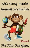 Cover for 'Kids Funny Puzzles Animal Scrambles'