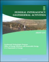 Cover for 'Geothermal Power: Federal Interagency Geothermal Activities, Challenges to Geothermal Energy Development, Federal Role, Future Direction, Enhanced Geothermal Systems (EGS)'