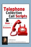 Cover for 'Telephone Collection call Scripts & How to respond to Excuses'