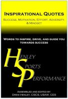 Cover for 'Inspirational Quotes: Success, Motivation, Effort, Adversity, & Mindset'