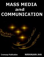 Cover for 'Mass Media and Communication'