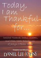 Cover for 'Today, I am Thankful for...'