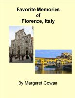 Cover for 'Favorite Experiences in Florence, Italy'