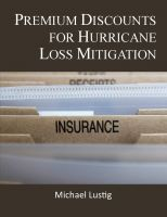Cover for 'Premium Discounts for Hurricane Loss Mitigation'