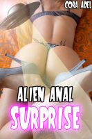 Cover for 'Alien Anal Surprise'