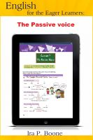 Cover for 'English for the Eager Learners: The Passive voice'