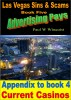 Las Vegas Sins and Scams – Appendix to Book 4 – Current Casinos by Paul Wallace Winquist
