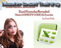 Cover for 'Excel Master Training - Master LOOKUP & LOGICAL Formulas in Excel - Vlookup (Master Excel Training)'