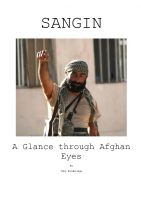 Cover for 'Sangin - A Glance through Afghan Eyes'