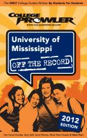 Cover for 'University of Mississippi 2012'