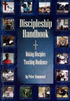 Cover for 'Discipleship Handbook - Making Disciples, Teaching Obedience'