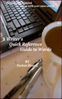 Cover for 'A Writer's Quick Reference Guide to Words'