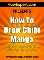 Cover for 'How To Draw Chibi Manga - Your Step-By-Step Guide To Drawing Chibi Manga'