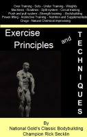 Cover for 'Exercise Principles and Techniques'