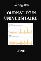 Cover for 'Journal d'un universitaire (été 2010) (Enhanced Version)'