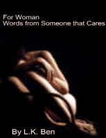 Cover for 'For Women, Words from Someone that Cares!'