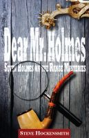 Cover for 'Dear Mr. Holmes: Seven Holmes on the Range Mysteries'