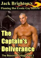 Cover for 'The Captain's Deliverance (Flaming Hot Erotic Gay BDSM)'
