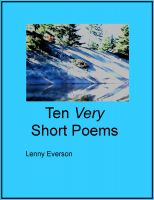 Cover for 'Ten Very Short Poems'