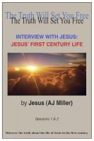 Cover for 'Interview with Jesus: Jesus' First Century Life'