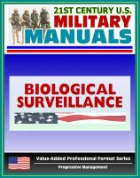 Cover for '21st Century U.S. Military Manuals: Multiservice Tactics, Techniques, and Procedures for Biological Surveillance Field Manual - FM 3-11.86 (Value-Added Professional Format Series)'