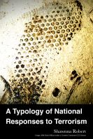 Cover for 'A Typology of National Responses to Terrorism'