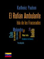 Cover for 'El Rufián Ambulante'