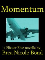 Cover for 'Flicker Blue 3: Momentum'