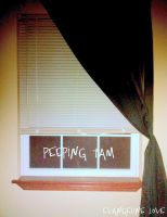 Cover for 'Peeping Tam'