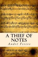 Cover for 'A Thief Of Notes'