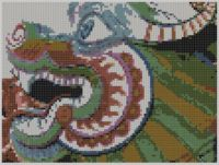 Cover for 'Dragon 2 Cross Stitch Pattern'