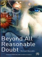 Cover for 'Beyond All Reasonable Doubt'