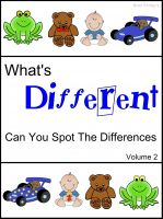 Cover for 'What's Different (Can You Spot The Differences) Volume 2'