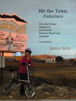 Cover for 'Hit the Town Fabulous: How the Urbane Single Girl Lives Swell & Without Much Cash in Iqaluit'