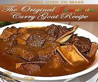 Cover for 'The Original Jamaican Curry Goat Recipe'